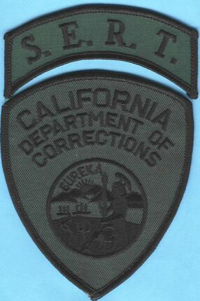 California Department of Corrections, SERT Badge