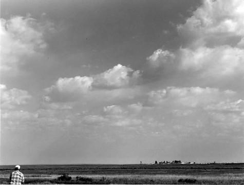 View from Boise Gun Club, New Idaho State Prison. Herman Krieger