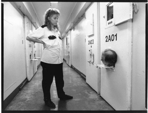 Protective Custody Unit, Stateville Correctional Center, 1992. Lloyd Degrane