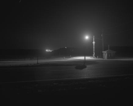 Alabama Death House Prison, 2004. Silver print photograph. Stephen Tourlentes