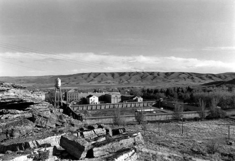 Open for Tourists, Old State Prison, Wyoming. Herman Krieger.