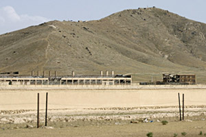The Salt Pit is located in an old brick factory a few miles northeast of Kabul, along an isolated back-road connecting Kabul to Bagram.