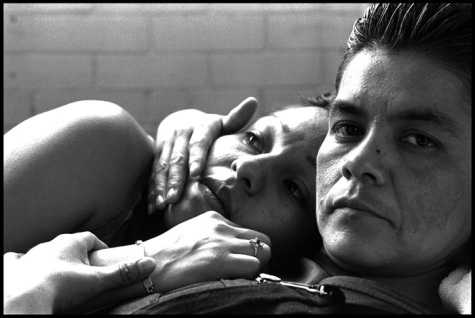 """Mario (Maria) and Eli"" 2000. Tepepan Women's Prison, México City. © Patricia Aridjis"