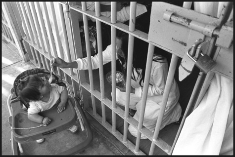 """""""Cereso"""", 2004. Mil Cumbres, Prison Michoacan, Mexico. © Patricia Aridjis"""