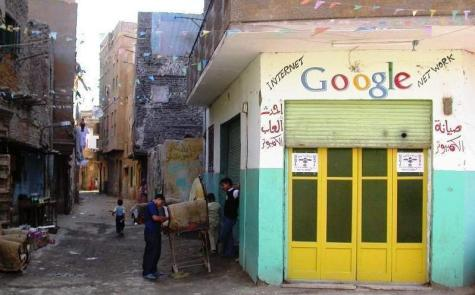 Internet Cafe in Baghdad. Phot Credit: BlogIraq (died April 2008). http://www.blogiraq.info/2007/02/22/at-last-google-opens-and-office-in-baghdad/