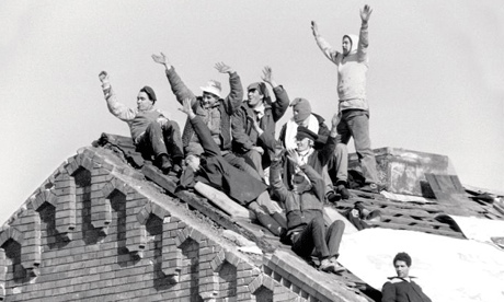The Strangeways riots in 1990 led to breakthroughs in the prison system. Photograph: Don McPhee for the Guardian