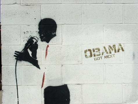Obama Stencil. By Christopher V. Smith. Source http://www.flickr.com/photos/christophervsmith/3382123801/in/pool-obamastreetart