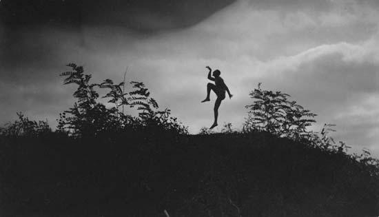 The Dancing Faun by André Kertész