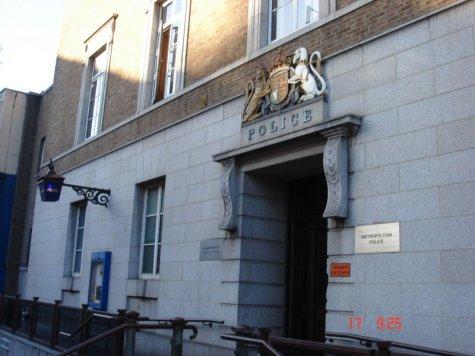 Hammersmith Police Station. Photo Credit: George. http://picasaweb.google.com/george.sapnatech/GeorgeeeeUKTrip04#5124127843534510386