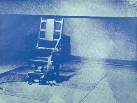Little Electric Chair. Andy Warhol, 1965