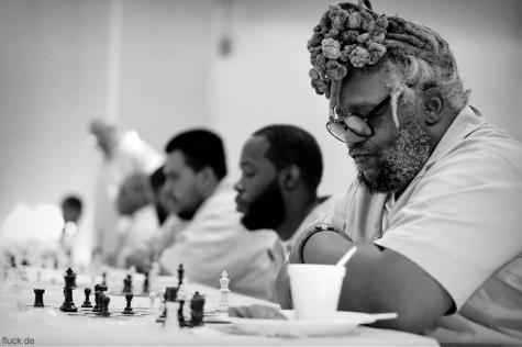 Prison Chess Portrait #4. Oliver Fluck