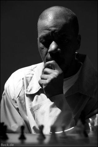 Prison Chess Portrait #14. Oliver Fluck