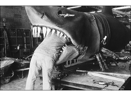Jaws, Universal Studios, Hollywood, CA. Anthony Friedkin. 1978. Photograph. Silver Print.