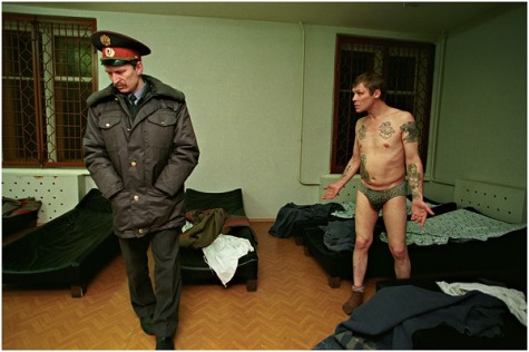 Sobering-up station, St.-Petersburg, January, 2003. (c) Sergey Maximishin