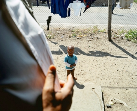 © Andrew Jackson. Black Child, Gulugetu, Cape Town, 2006