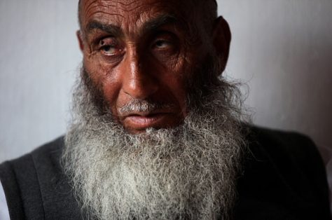Haji Nasrat, 77 Released in 2006, the farmer was Guantanamo's oldest prisoner. Partially paralyzed for more than 15 years and illiterate, Nasrat says he does not know why the Americans detained him. Government documents relating to his case allege that he was a member of Hezb-e-Islami Gulbuddin, a former mujahadeen group said to be tied to Al Qaeda. © Paula Bronstein/Getty