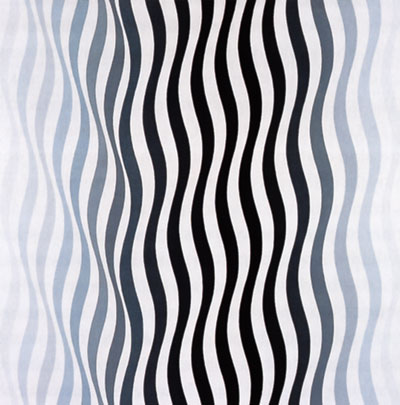 Arrest 1 (1965) by Bridget Riley
