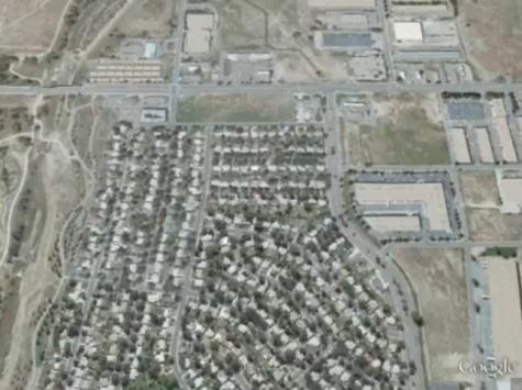 Aurora Detention Facility, Aurora, Colorado, Google Earth Screenshot