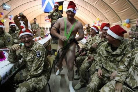 IRAQ-BRITAIN-CHRISTMAS