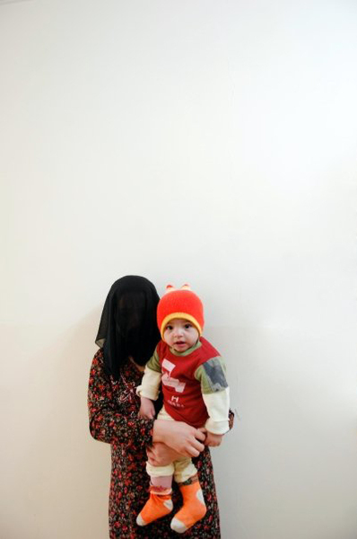 This child was born in prison. He is 8 months old. His mother was imprisoned on 29 Jan. 2009, sentenced to a year in prison for illegal sex with another person. She is from Arbil. © Julie Adnan