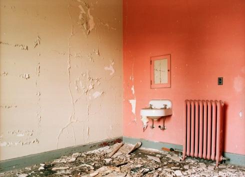 doctor's office, ward 66, abandoned portion of J building