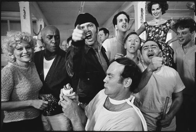 one flew over the cuckoo s nest prison photography cast of one flew over the cuckoo s nest