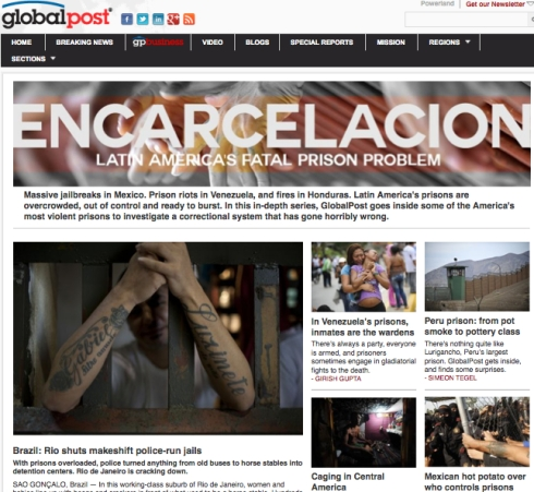 """... correctional systems of Latin America that """"have gone horribly wrong."""""""