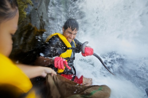 Willamette Falls Lamprey Harvest