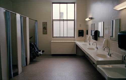 Imminent Closure of New York Hospital Leaves Spinal Injury   A bathroom inside of Goldwater Hospital  Febuary 2012   DanielTepper ThisIsland 11. Hospital Bathroom. Home Design Ideas