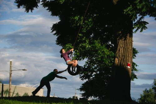 Tire Swing, Alberta Steet, hipsters, portland, summer,