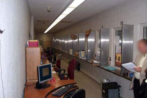 Reception Center Visiting : Clinician Office Space, North Kern State Prison, July, 2008