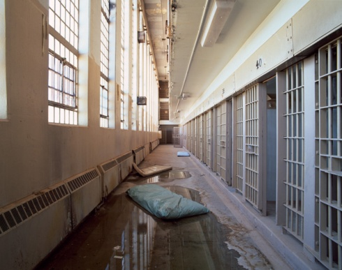 Mattresses in Cell Block, Penitentiary New Mexico, Santa Fe, NM, #5 (2009)