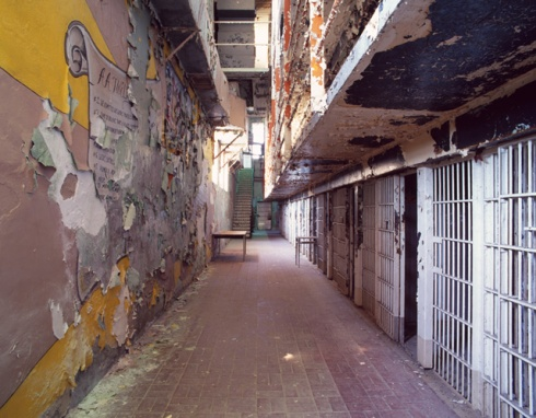 Cells, Housing Unit 1, Missouri State Penitentiary, #4 (AA Mural) (2012)