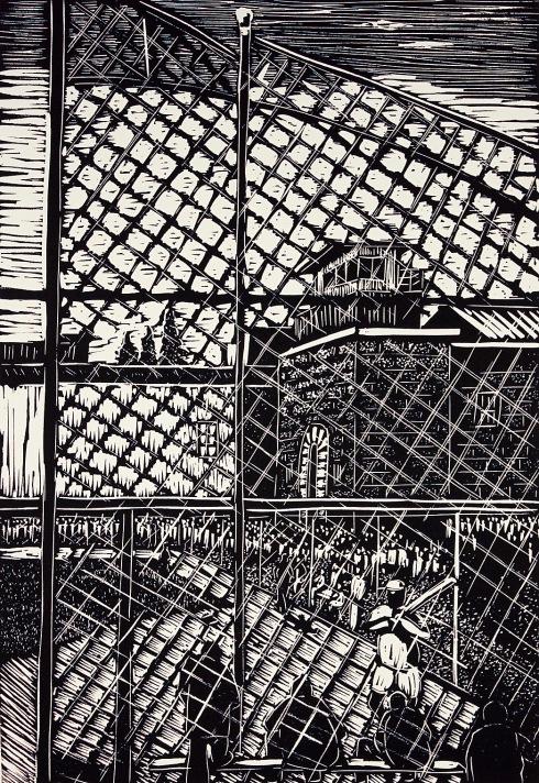 Goodman, Ronnie - Baseball at old Folsom Prison