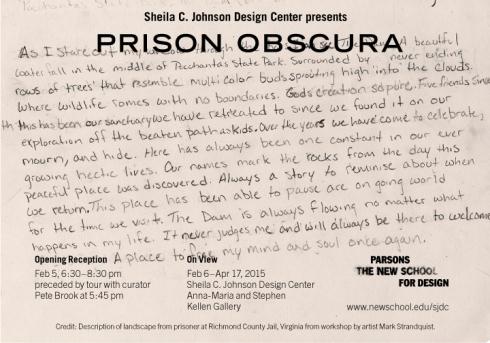 SJDC Prison Obscura invite