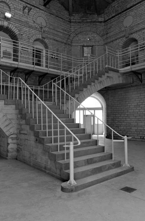 Staircase,  workshop building