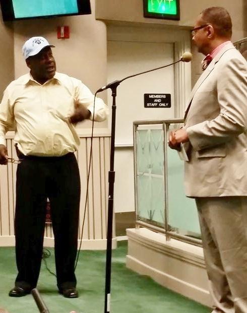 Dorsey and Reggie Jones-Sawyer