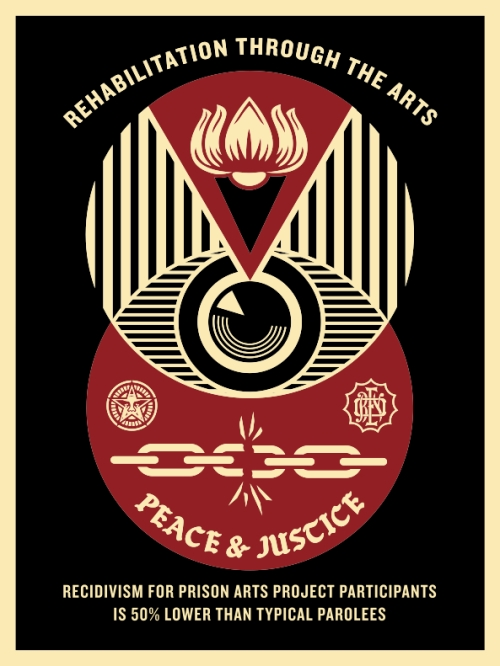 shepard fairey s prison reform graphics prison photography prison reform graphics1