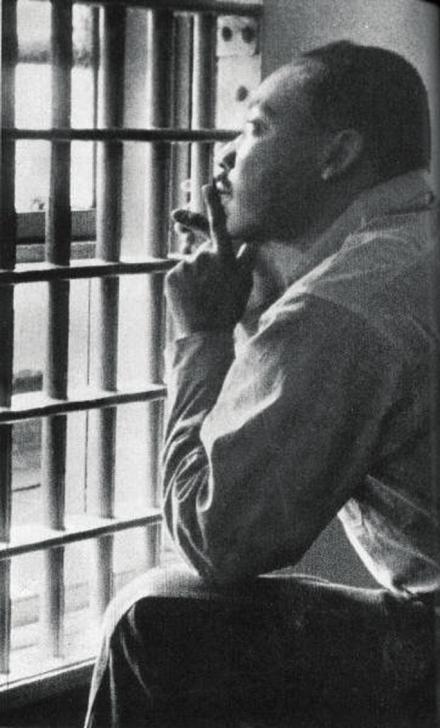 Image result for mlk in prison