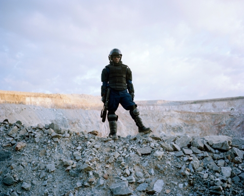 untitled # IV, mine security, north mara mine, tanzania-from the